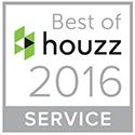 Houzz Design and Service Award